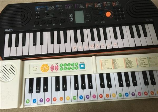 カシオのキーボードと比較