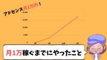 GoogleAdSense(アドセンス)がついに月1万円超え!主婦が雑記ブログ運営でやったことやPVをゆるく書いていきます。