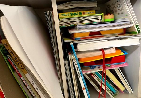 終わってる本棚